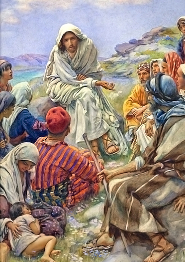 Come Unto Me by Harold Copping