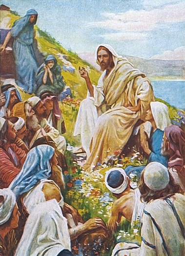 The Sermon On The Mount by Harold Copping