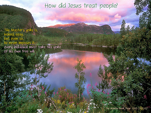 How did Treat People?