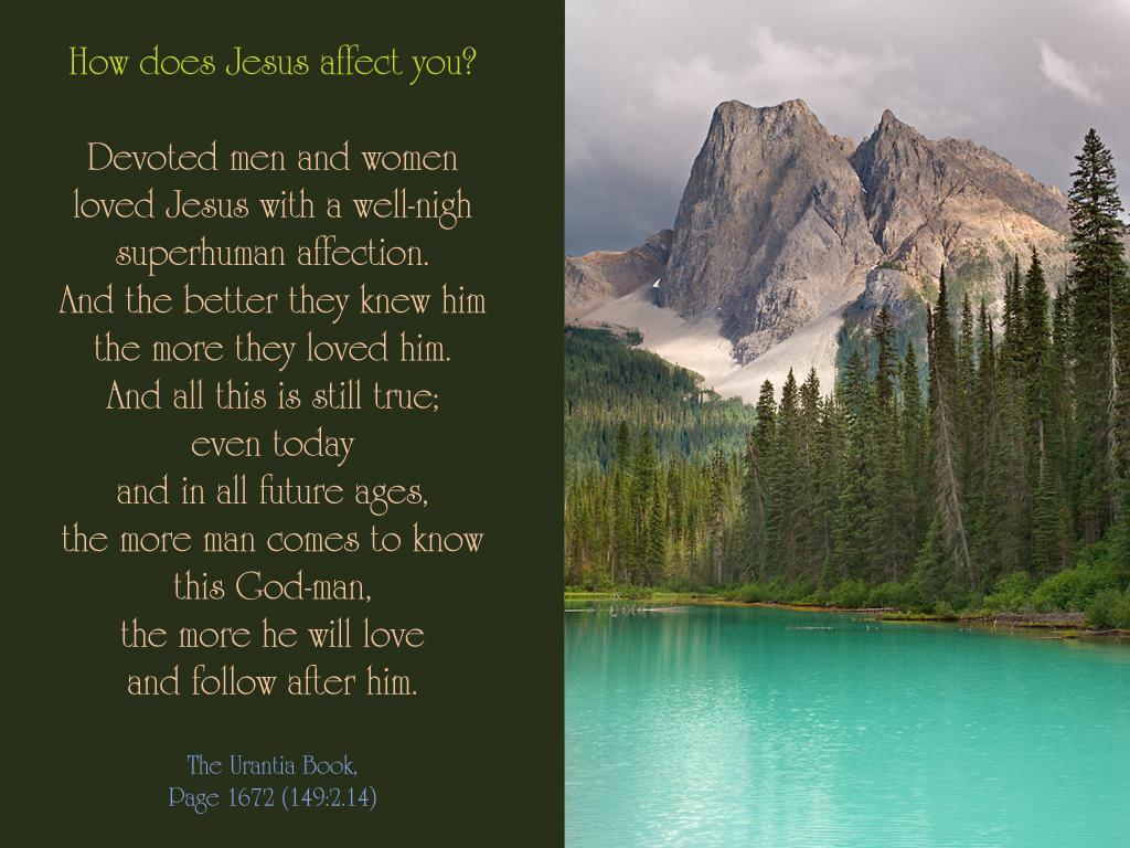 Affectingyou: Get To Know Jesus