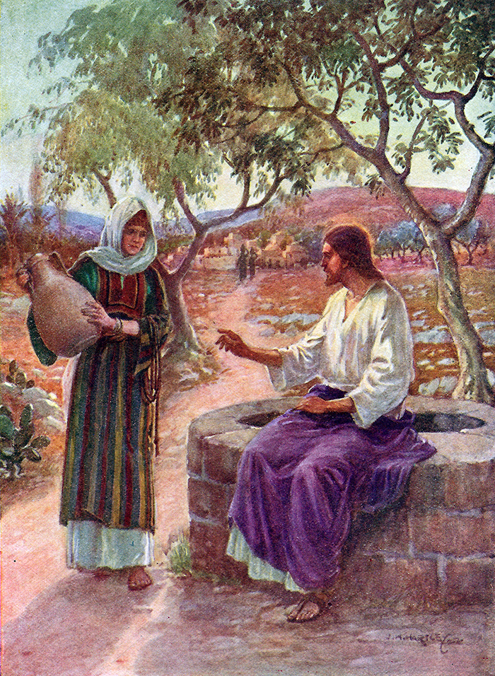Jesus and the woman of Samaria by J H Hartley