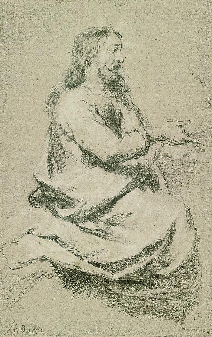 Christus predigend by Jacob Jordaens