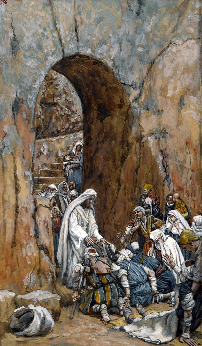 He Did No Miracles But He Healed Them by James Tissot