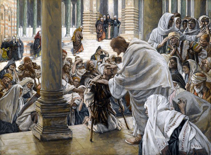 He Heals the Lame by James Tissot