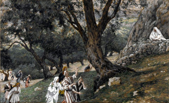 Jesus Went Out Into A Desert Place by James Tissot