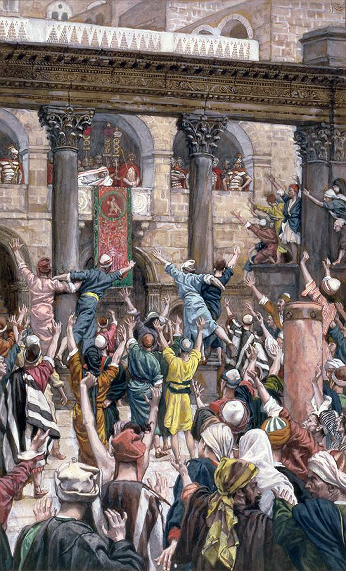 Let Him Be Crucified by James Tissot