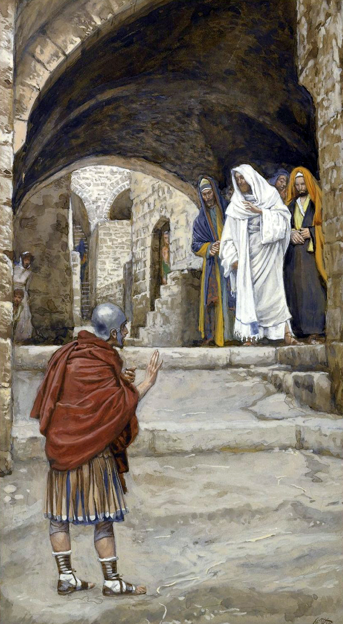 Lord, I Am Not Worthy by James Tissot
