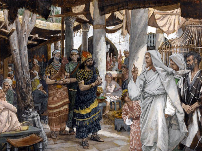 The Healing of the Officer's Son by James Tissot