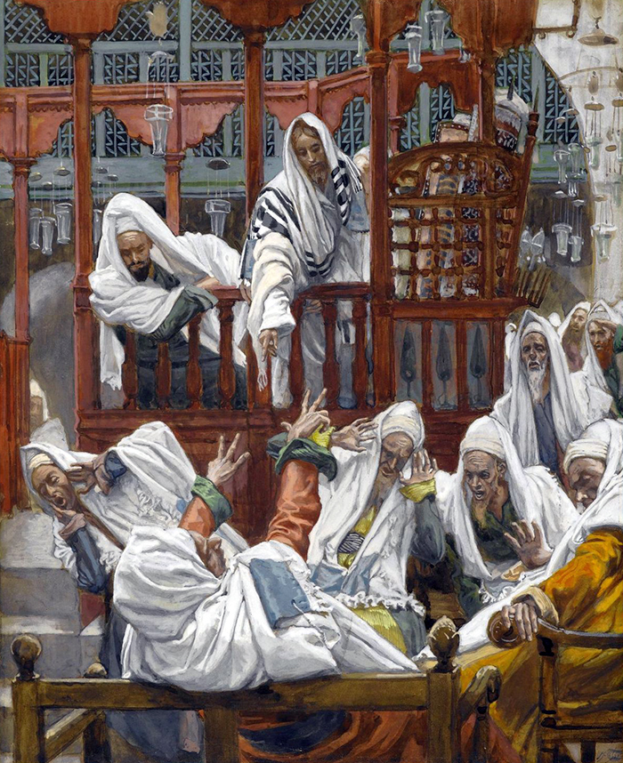 The Possessed Man in the Synagogue by James Tissot