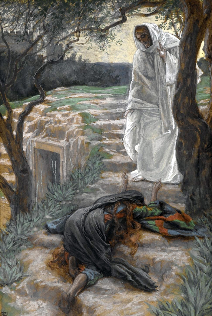 Touch Me Not (Noli me tangere) by James Tissot