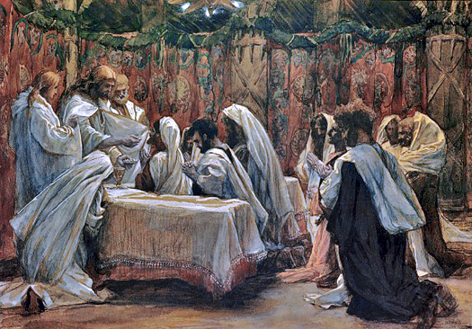 Communion of the Apostles by James Tissot