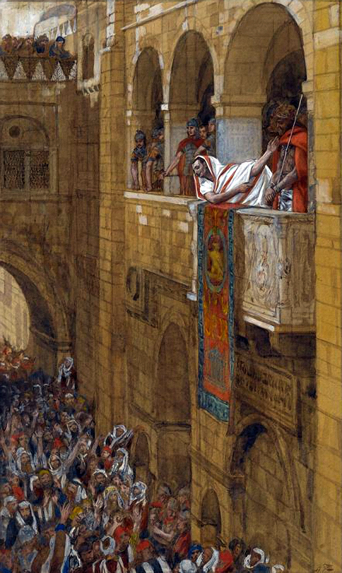 Ecce Homo (Behold the man) by James Tissot