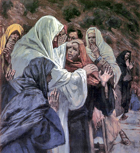 He That Has Seen Me Has Seen the Father by James Tissot