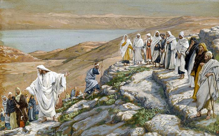 Jesus Chooses The Twelve by James Tissot