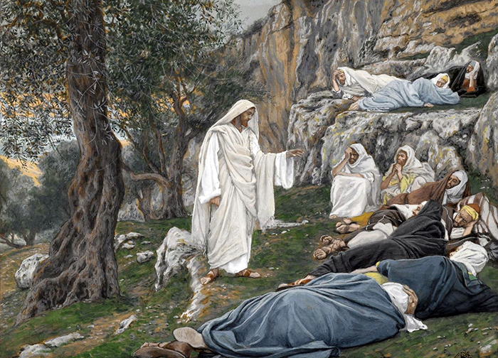 Jesus Commands the Apostles to Rest by James Tissot