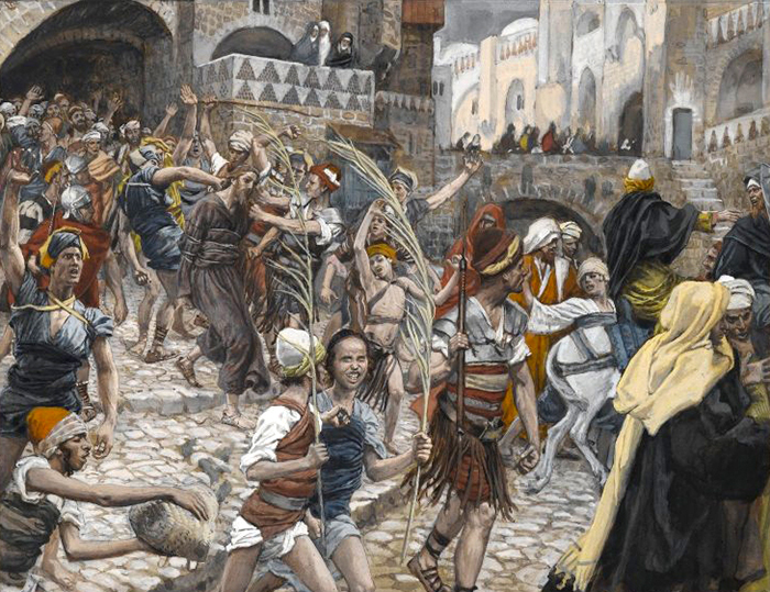 Jesus Led From Caiaphas To Pilate by James Tissot