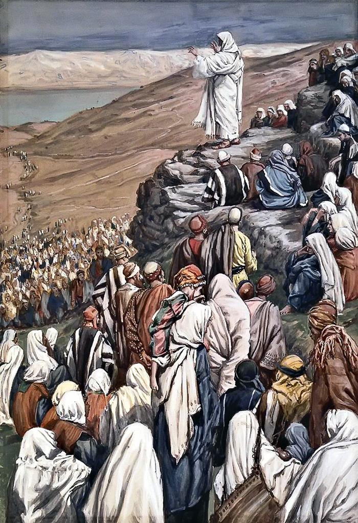 Jesus Preaches by James Tissot
