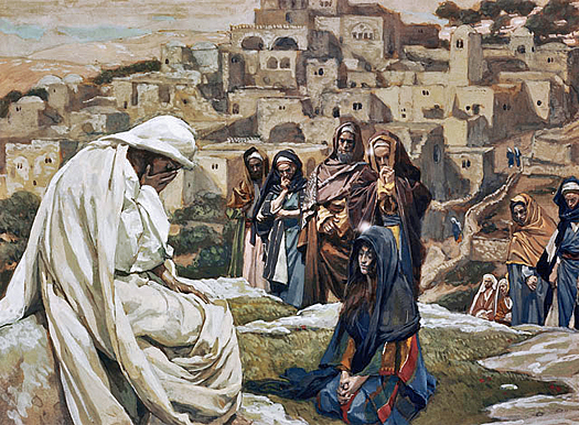 Jesus Wept by James Tissot