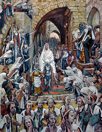 Procession in the Streets of Jerusalem by James Tissot