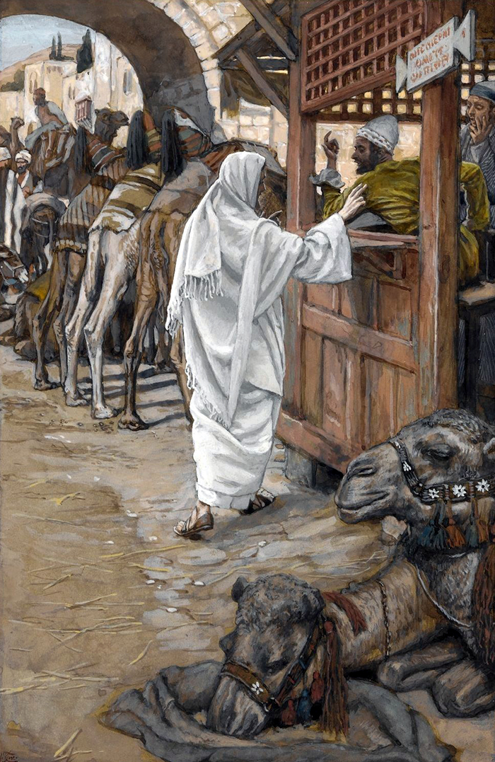 The Calling Of Saint Matthew by James Tissot