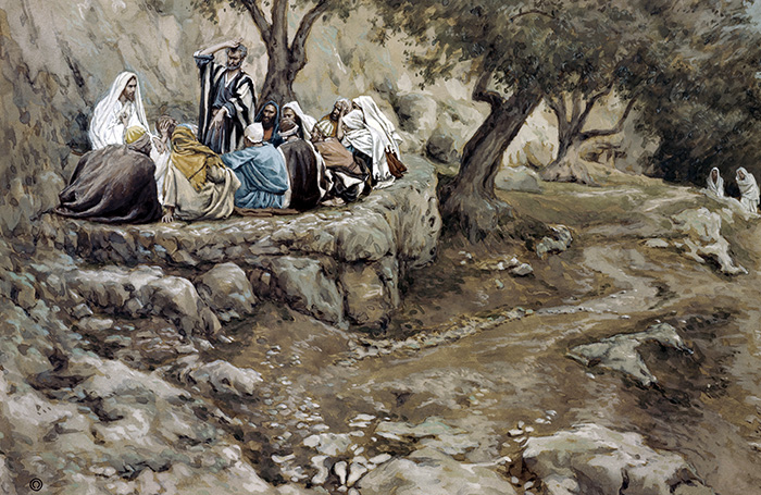 The Charge to Peter by James Tissot