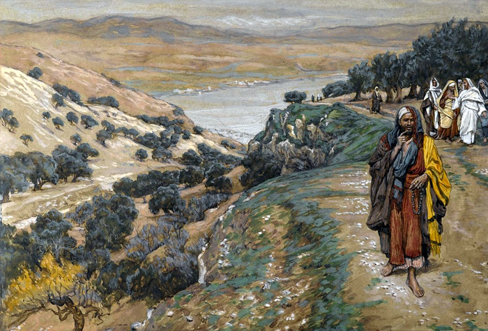 The Rich Young Man Went Away Sorrowful by James Tissot