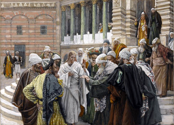 The Tribute Money by James Tissot