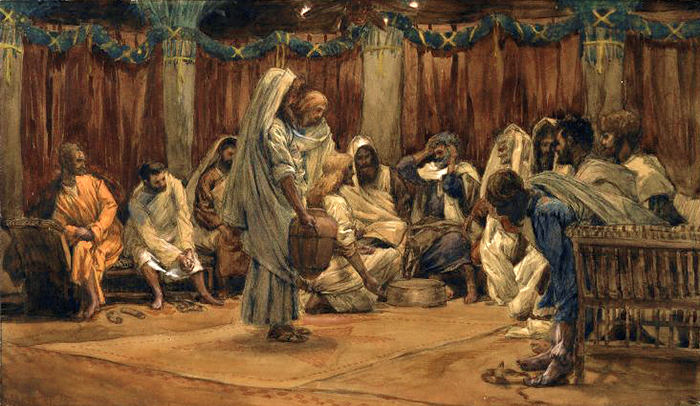 The Washing of the Feet by James Tissot