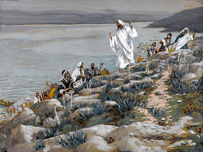 You Follow Me for the Miracles by James Tissot