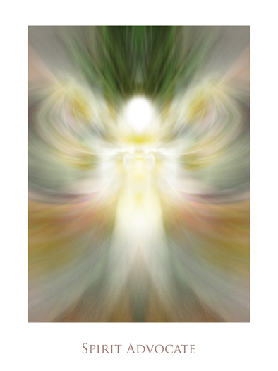 Spirit Advocate by Jeff Haworth - Poster