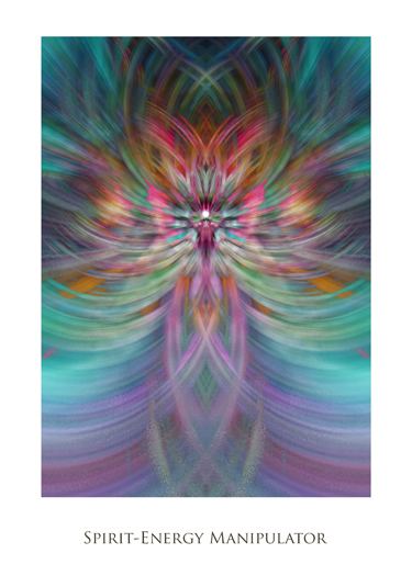 Spirit Energy Manipulator by Jeff Haworth - Poster