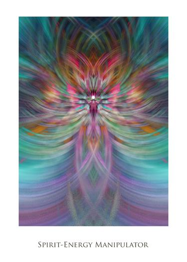 Spirit Energy Manipulator by Jeff Haworth - Poster