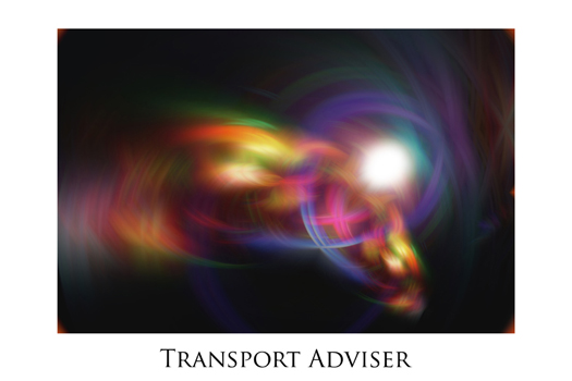 Transport Advisor by Jeff Haworth - Poster