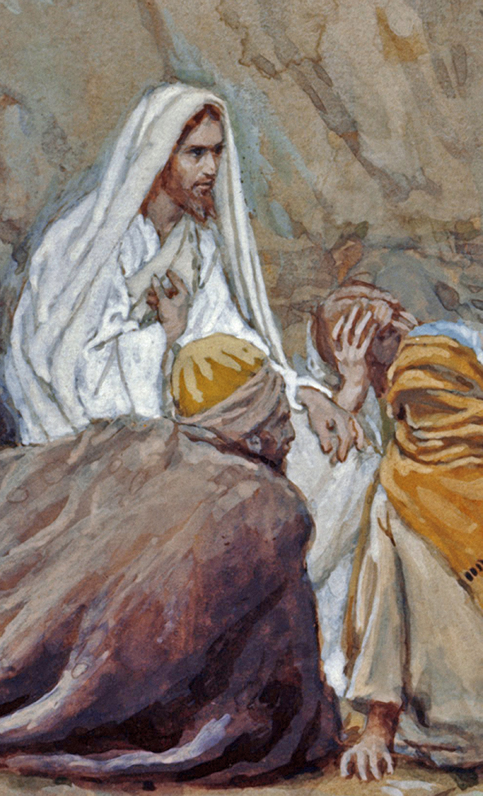 Jesus (detail) by James Tissot