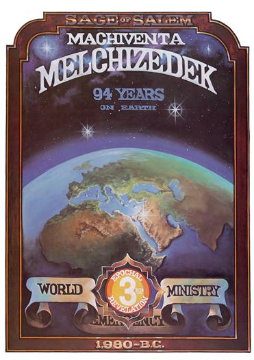 Melchizedek by John Byron - Poster