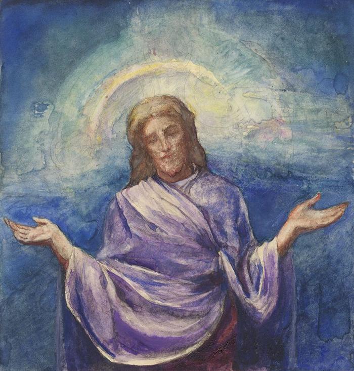 Christ the Redeemer by John La Farge