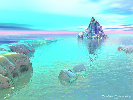 Arctic Thaw by Jonathan Allen Cummings