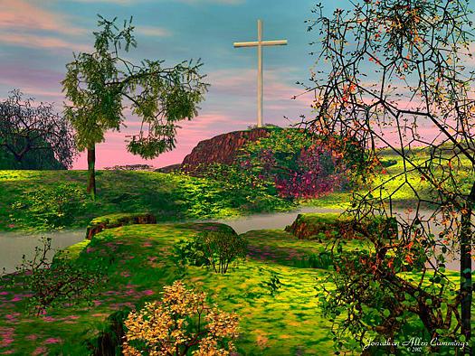 Garden of Seclusion by Jonathan Allen Cummings