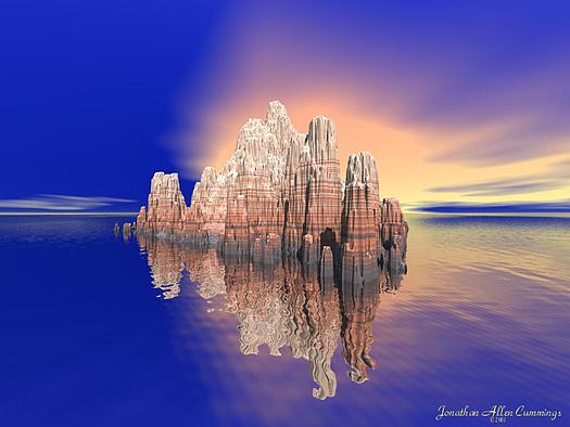Rockburst by Jonathan Allen Cummings