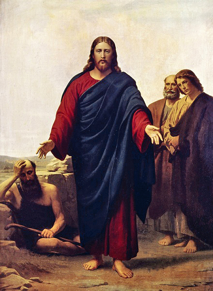 Christ with his Disciples by Jorgen Pedersen Roed