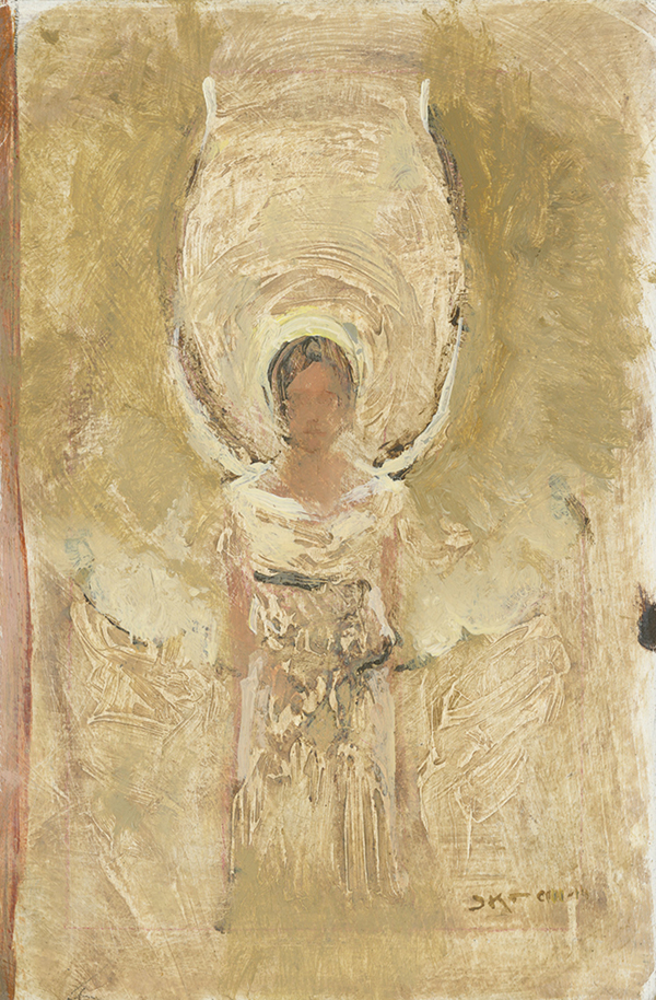 Small Angel in White by J. Kirk Richards