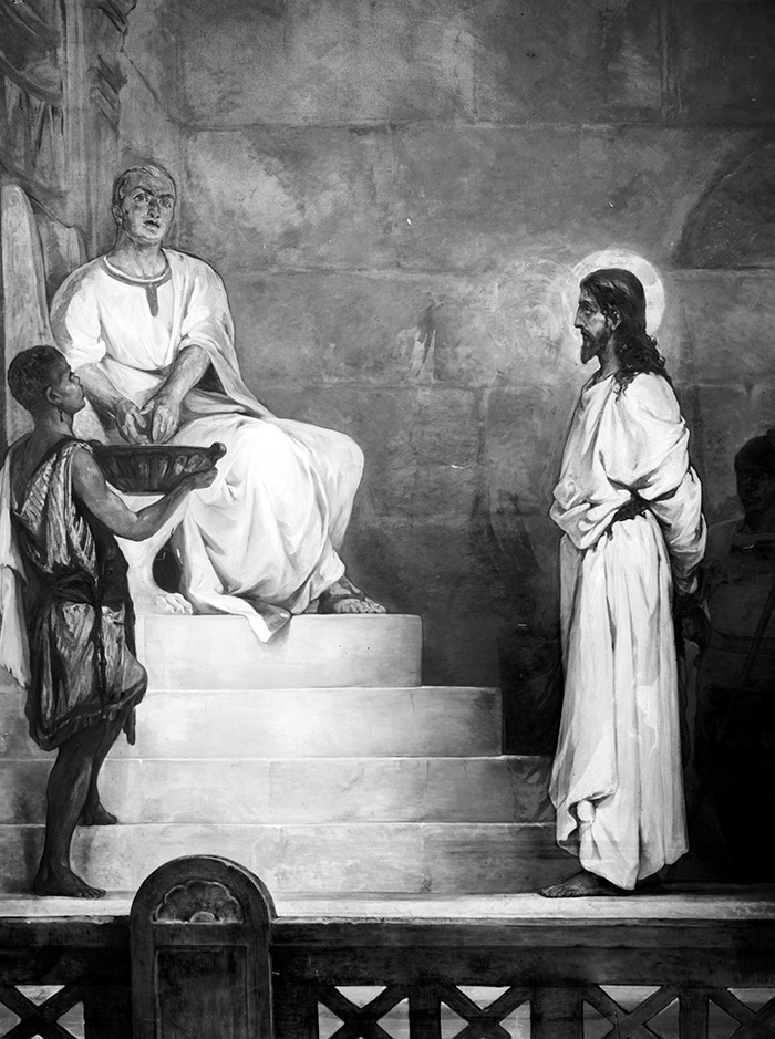 Pilate washing his hands by Kosheleff