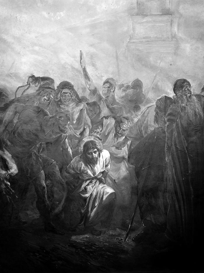 Christ bound at Gethsemane by Kosheleff