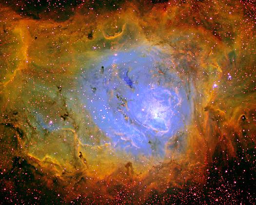 Lagoon Nebula NGC 6523