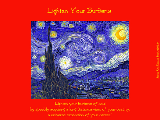 Lighten Your Burdens