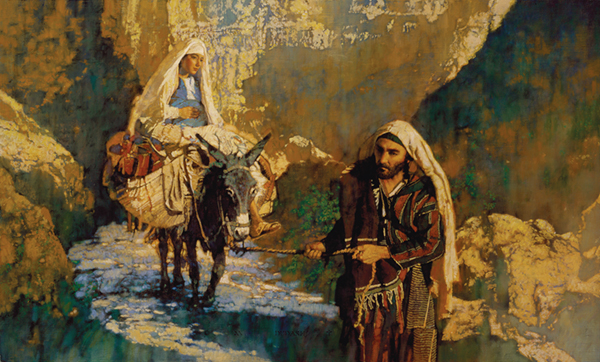 On the Way to Bethlehem by Michael Dudash