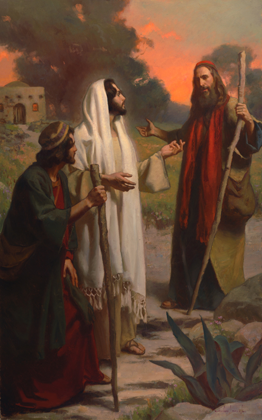 Two Brothers from Emmaus by Michael Malm