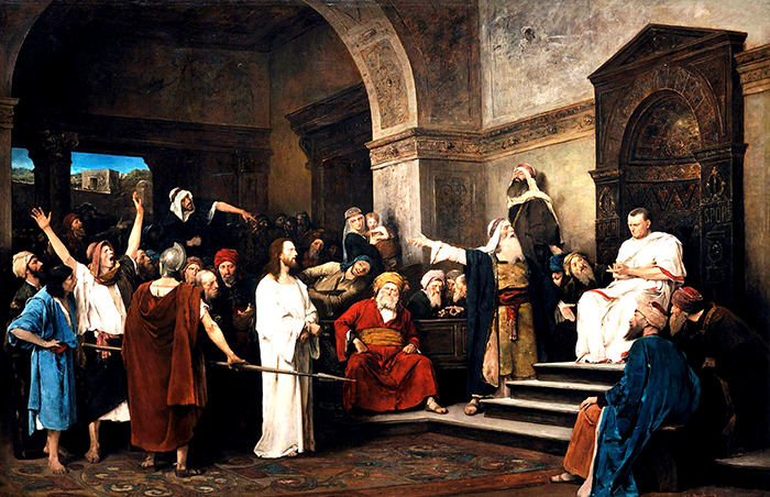 Christ before Pilate by Mihály Munkácsy