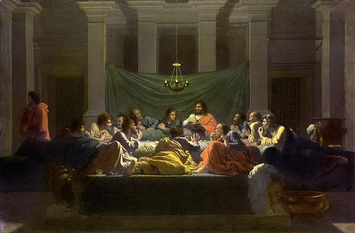 The Eucharist by Nicolas Poussin