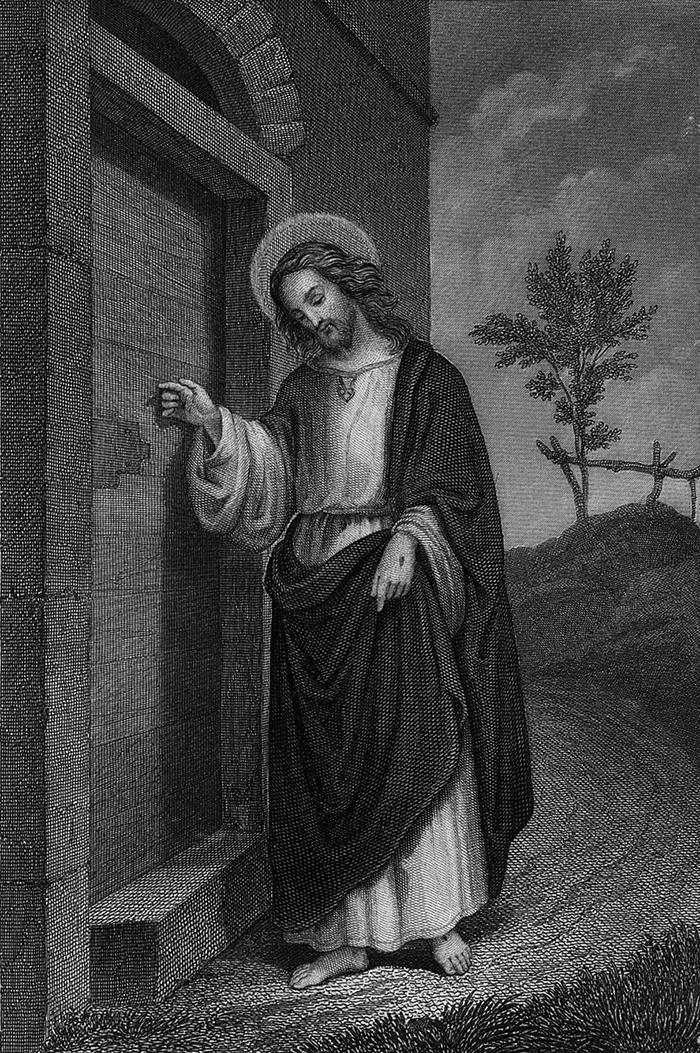 Siehe, Ich stehe vor der Tür und Klopfe an by P.C.Geifsler